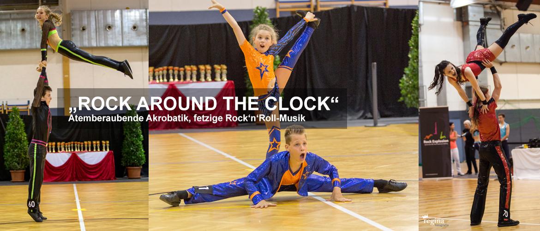 Rock Around The Clock - Atemberaubende Akrobatik, fetzige Rock'n'Roll-Musik