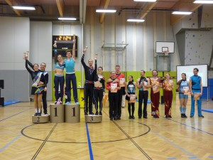 Siegerehrung Kaisercup 2015 Teil 1 - Klasse C