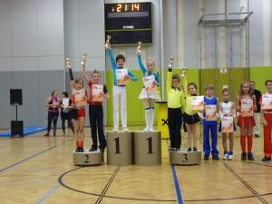 Siegerehrung Kaisercup 2015 Teil 1 - Klasse Einsteiger