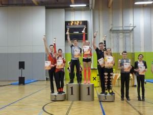 Siegerehrung Kaisercup 2015 Teil 1 - Klasse Junioren