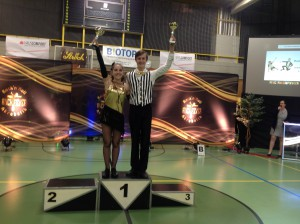 Alex und Philomena - Wiener Meister Klasse Junioren 2016