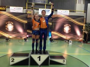 Niki und Louisa - Wiener Meister Klasse Schüler 2016