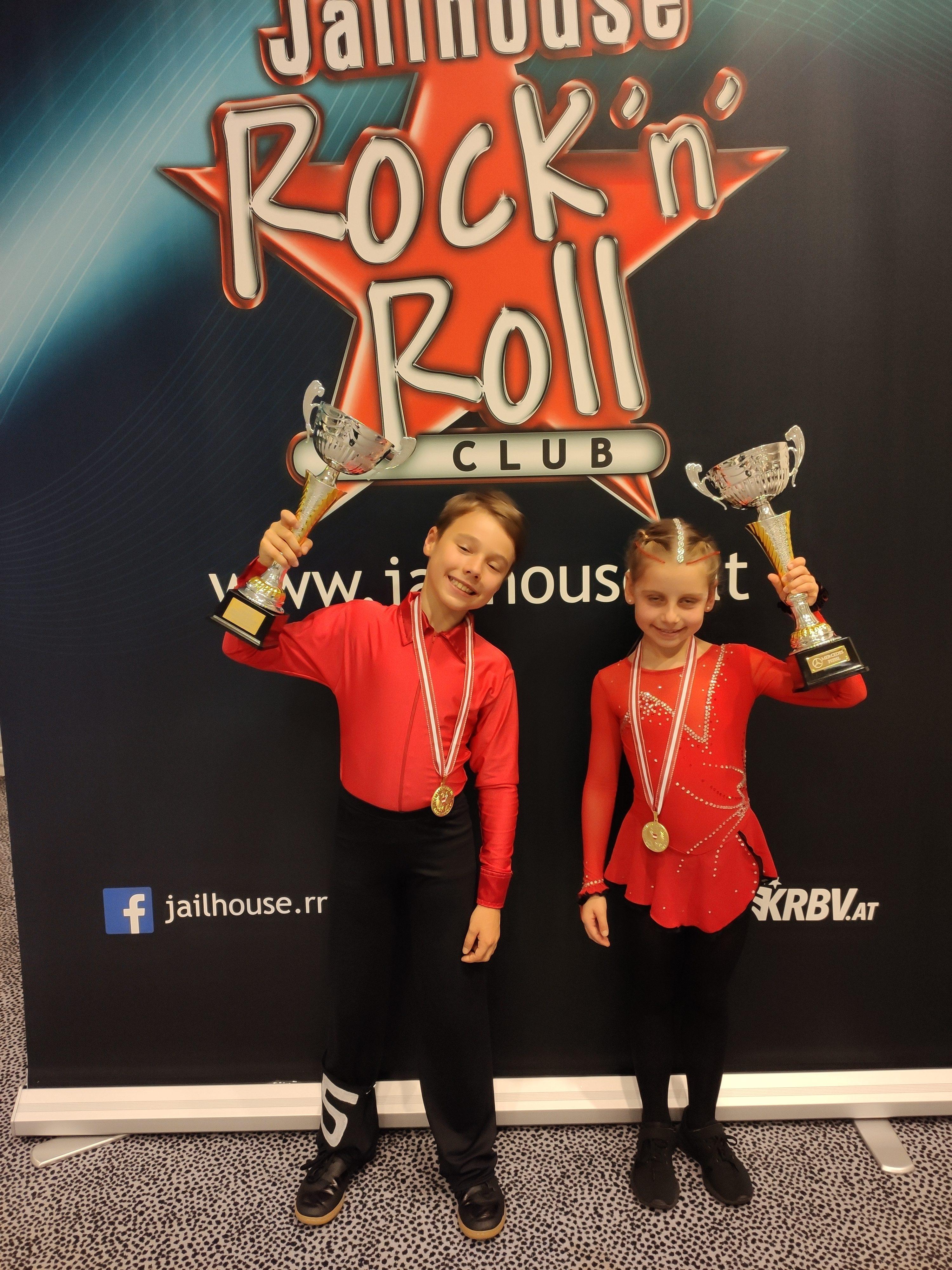 Sarah und Oskar - Österreichische Meister 2019